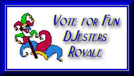 This is my new but spirited team, the DJesters Royale. Maybe you could even join...